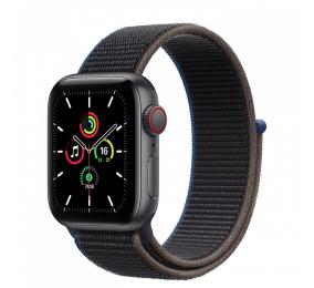 Apple Watch SE GPS+Cellular 40mm Alumínio Cinzento Sideral c/ Bracelete Desportiva Loop Carvão