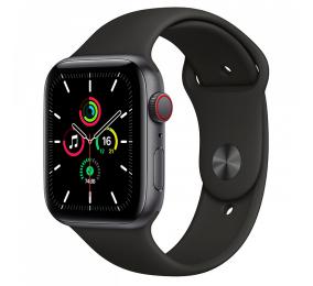 Apple Watch SE GPS+Cellular 44mm Alumínio Cinzento Sideral c/ Bracelete Desportiva Preta