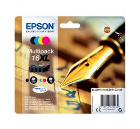 Tinteiro Epson Original Multipack Caneta e Palavras Cruzadas Série 16XL