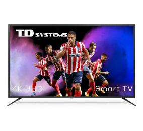 "Televisão Plana TD Systems K58DLJ12US SmartTV 58"" 4K UHD Android"