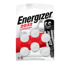 Pilha Energizer CR2032 3V (6 Unidades)