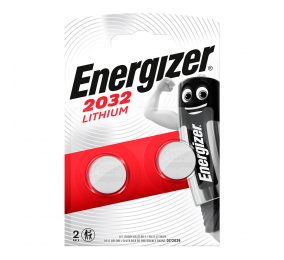 Pilha Energizer CR2032 3V (2 Unidades)