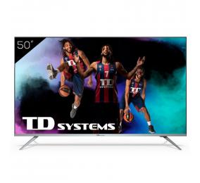 "Televisão Plana TD Systems K50DLJ12US SmartTV 50"" 4K UHD Android"