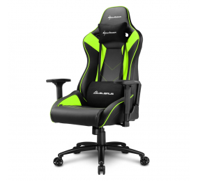 Cadeira Gaming Sharkoon Elbrus 3 Preta/Verde