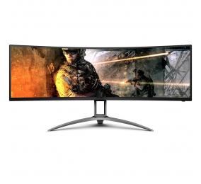 """Monitor Curvo AOC AG493UCX VA 49"""" Dual QHD 32:9 120Hz FreeSync"""