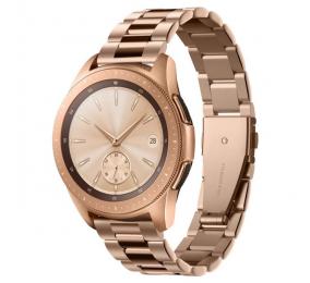 Bracelete Spigen Modern Fit Band Samsung Galaxy Watch 42mm Rosa Dourado