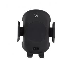 Suporte para Carro Ewent EW1191 com Carregamento Wireless Qi Preto