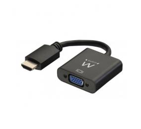 Cabo Conversor Ewent EW9864 HDMI para VGA com áudio 0.15m
