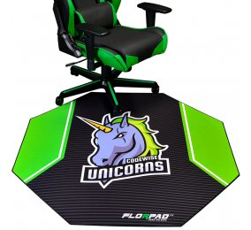 Tapete de Cadeira Florpad Codewise Unicorns