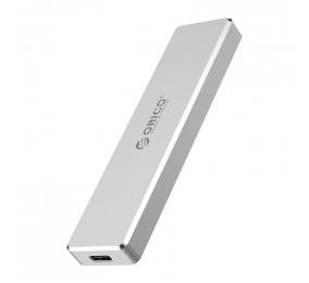 Caixa Externa M.2 Orico PCM2-C3 Mini Push-open M.2 NVMe PCIe / USB-C (USB 3.1 Gen2) Cinza