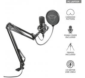 Microfone Trust GXT 252+ Emita Plus Streaming