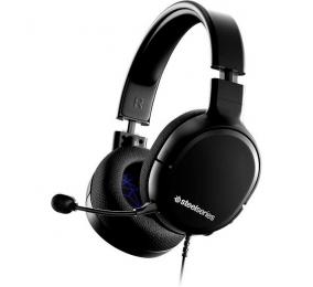 Headset SteelSeries Arctis 1 PS5 Preto