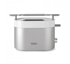 Torradeira Kenwood K-Sense Toaster TCM401TT 2 Fatias 1100W Branca & Cinza