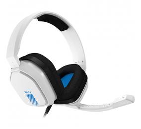 Headset ASTRO Gaming A10 Branco/Azul PC/MAC/XBOX/PS4