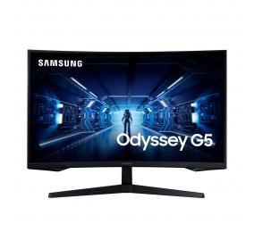 """Monitor Curvo Samsung Odyssey G5 VA 27"""" QHD 16:9 144Hz FreeSync"""