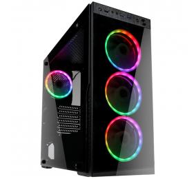 Caixa ATX Kolink Horizon RGB Vidro Temperado Preta