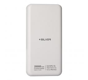 Powerbank Silver S81 IPPB-S81 20000mAh Branca