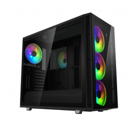 Caixa Extended-ATX Fractal Design Define S2 Vision RGB Preta