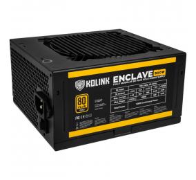 Fonte de Alimentação Kolink Enclave 500W 80PLUS Gold Full Modular