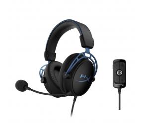 Headset HyperX Cloud Alpha S 7.1 Preto/Azul