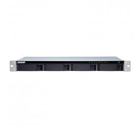 NAS QNAP TS-431XeU 4 Baías Rack 10GbE SFP+ 1.7GHz Quad-Core