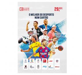 Cartão Eleven Sports Subscrição 3 Meses
