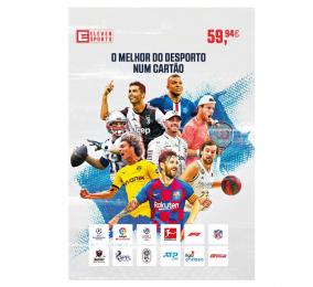 Cartão Eleven Sports Subscrição 6 Meses