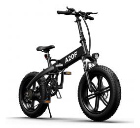 Bicicleta Elétrica ADO A20F Cross-Country Folding EBike Preta