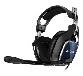 Headset ASTRO Gaming A40 TR PS4 Preto/Azul