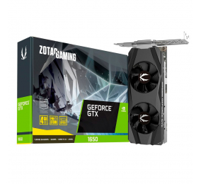 Placa Gráfica Zotac GeForce GTX 1650 Low Profile 4GB