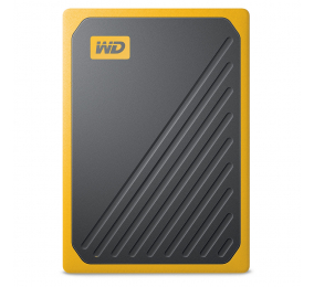SSD Externo Western Digital My Passport Go 500GB USB 3.0 Laranja