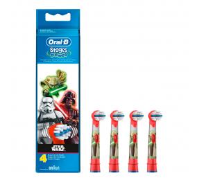 Cabeças para Escova de Dentes Elétrica Oral-B Stages Star Wars