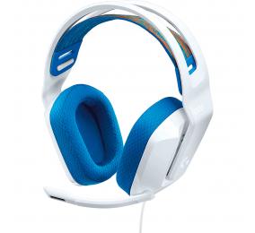 Headset Logitech G335 Wired Gaming Branco
