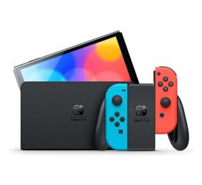 Consola Nintendo Switch (versão OLED) Azul Néon/Vermelho Néon