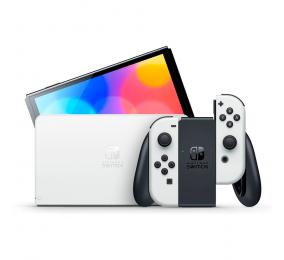 Consola Nintendo Switch (versão OLED) Branca