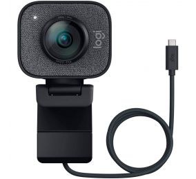 Webcam Logitech StreamCam Full HD 1080p USB 3.1 Type-C Preta