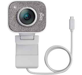Webcam Logitech StreamCam Full HD 1080p USB 3.1 Type-C Branca