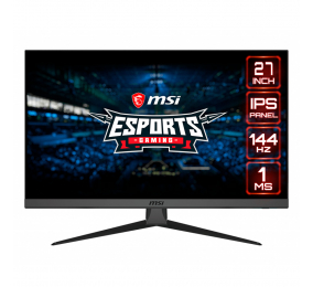 "Monitor MSI Optix G272 IPS 27"" FHD 144Hz FreeSync / G-Sync Compatible"