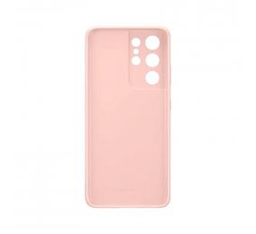 Capa Samsung Silicone Cover Samsung Galaxy S21 Ultra Rosa