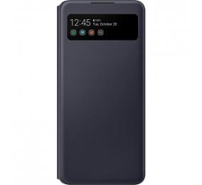 Capa Samsung Galaxy A42 5G S View Wallet Cover Preta
