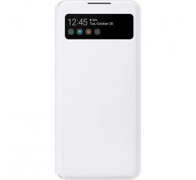 Capa Samsung Galaxy A42 5G S View Wallet Cover Branca