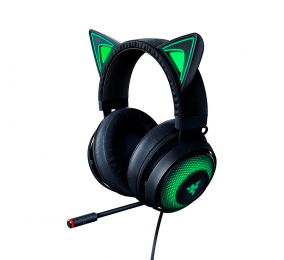 Headset Razer Kraken Kitty Edition Preto