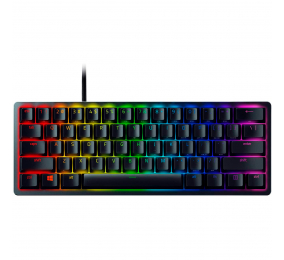 Teclado Razer Huntsman Mini 60% RGB Linear Optical Switch (Red) US Preto