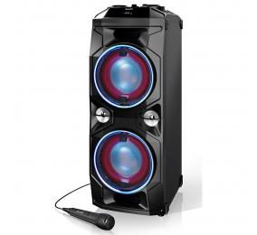 Coluna High-Power Sharp PS-940 180W Bluetooth Preta