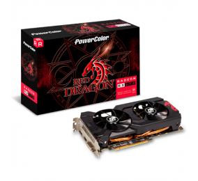 Placa Gráfica Powercolor Radeon RX 570 Red Dragon 8GB OC