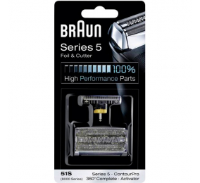Cabeça para Máquina de Barbear Braun Series 5 Foil & Cutter