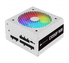 Fonte de Alimentação Corsair CX-F RGB CX550F 550W 80+ Bronze Full Modular Branca