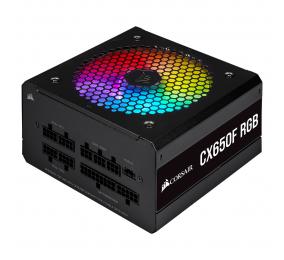 Fonte de Alimentação Corsair CX-F RGB CX650F 650W 80+ Bronze Full Modular Preta