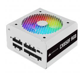 Fonte de Alimentação Corsair CX-F RGB CX650F 650W 80+ Bronze Full Modular Branca
