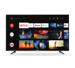 "Televisão Plana TCL 65P615 SmartTV 65"" LED 4K UHD Android TV"